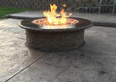omaha gas fire pit