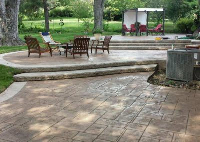 omaha decorative custom concrete