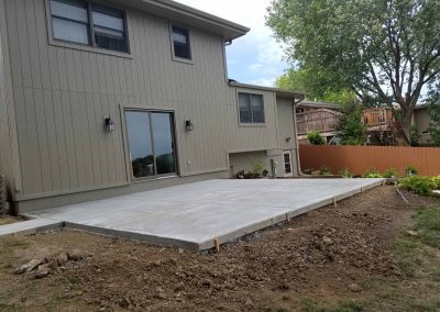 omaha residential concrete driveway